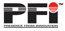 Presence From Innovation (PFI)